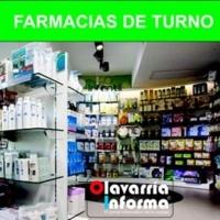 Farmacias de turno 01 de enero
