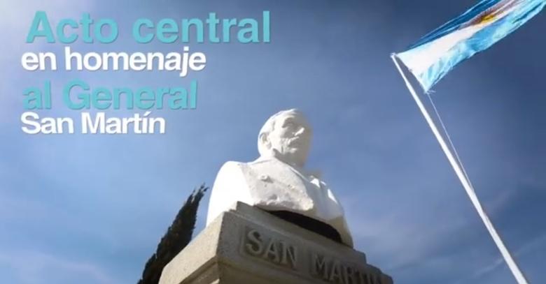 Homenaje a San Martin