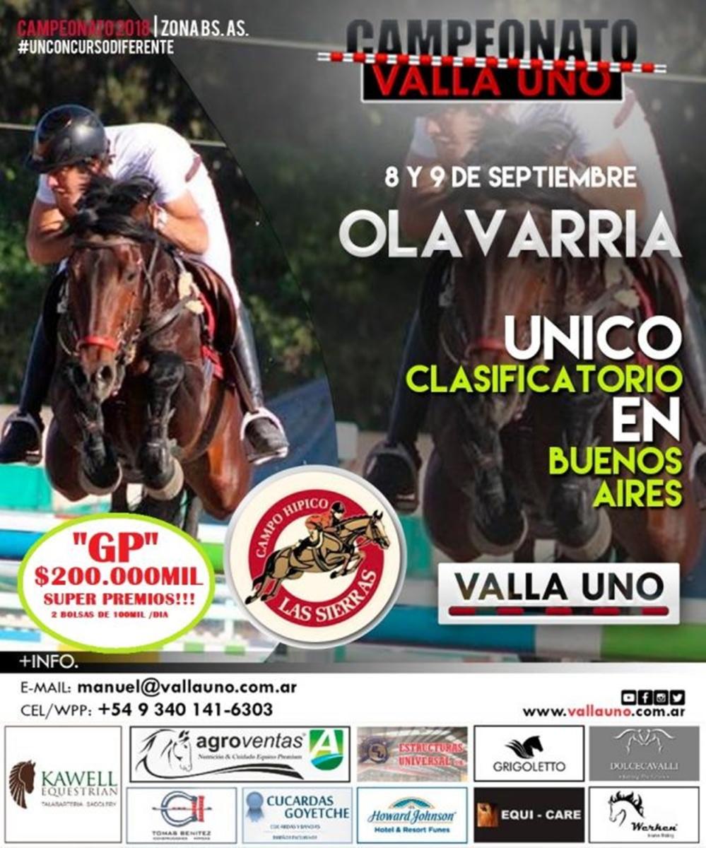 """Campeonato """"Valla Uno"""""""